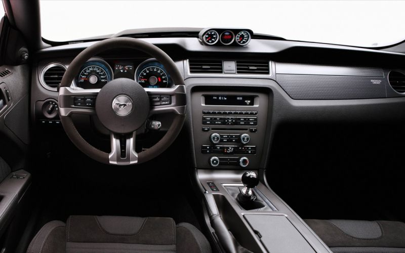 Vehicles ford mustang car interiors steering wheel wallpaper