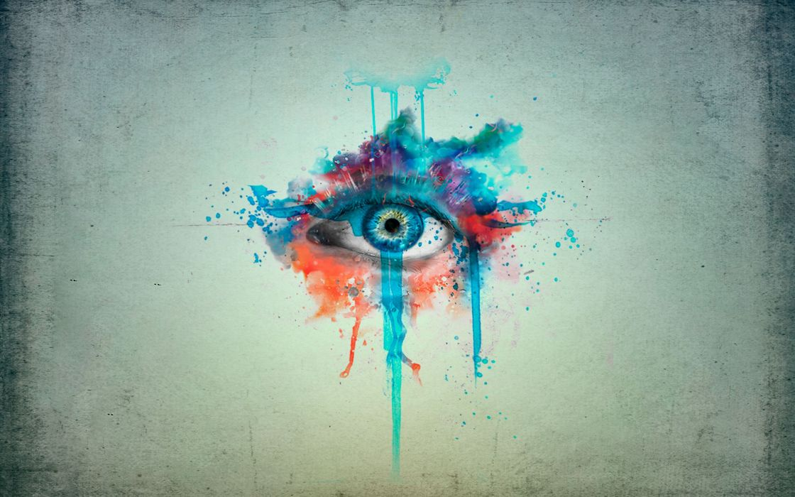 Eyes minimalistic photomanipulations manipulation cg artwork wallpaper