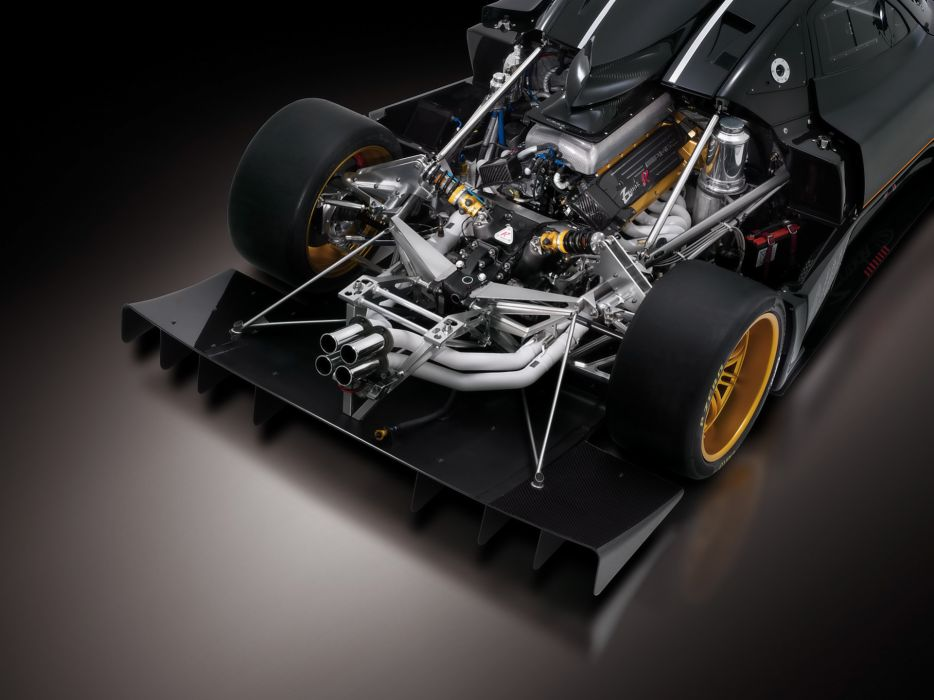 Pagani zonda engines vehicles pagani zonda r zonda r wallpaper