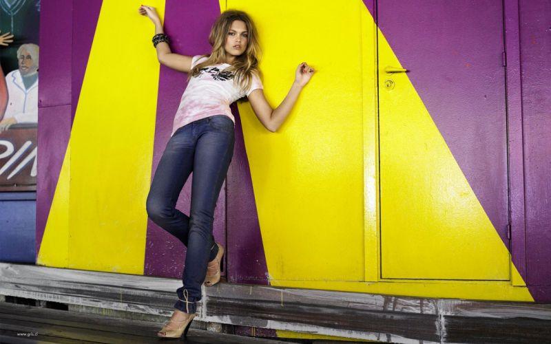 Women jeans models swedish bracelets mona johannesson wallpaper