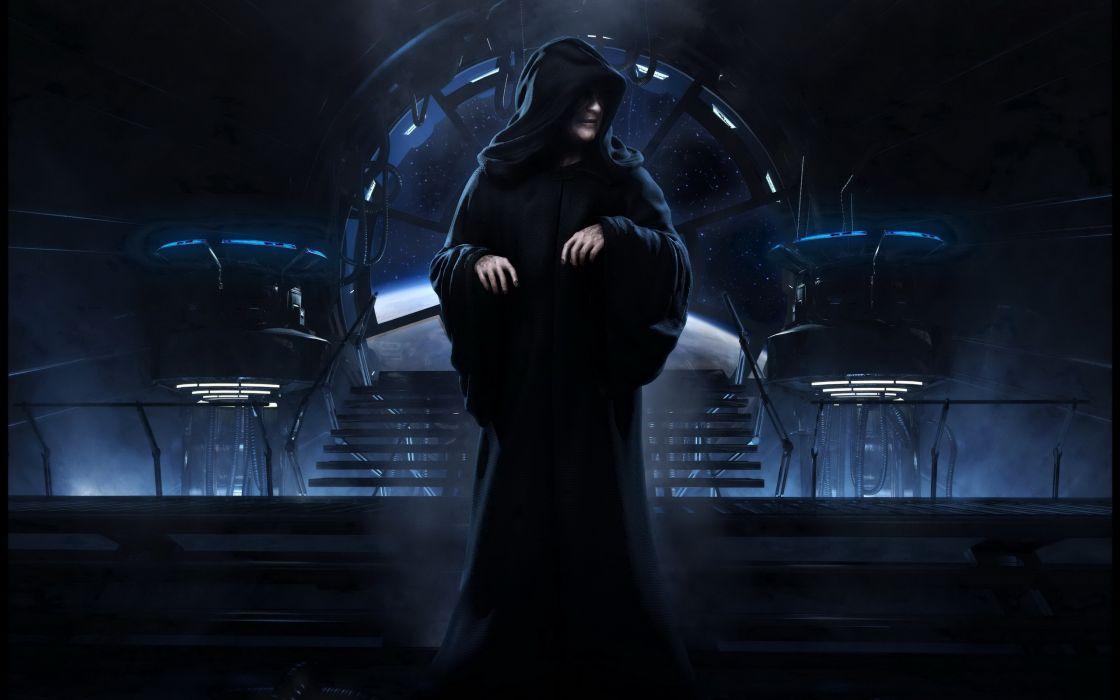 Star wars emperor wallpaper