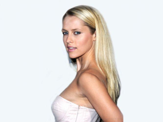 Blondes women blue eyes actress teresa palmer wallpaper