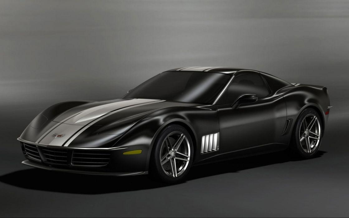 Cars concept concept art corvette wallpaper
