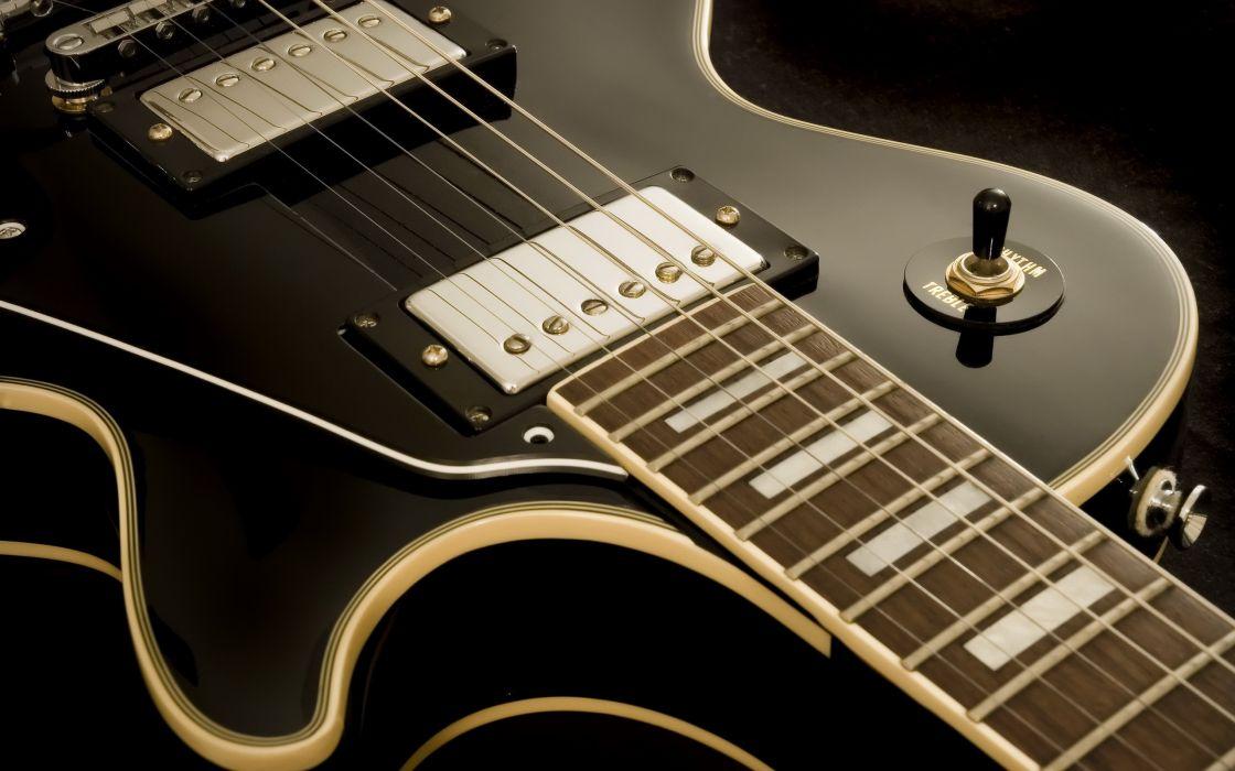 Music instruments guitars wallpaper
