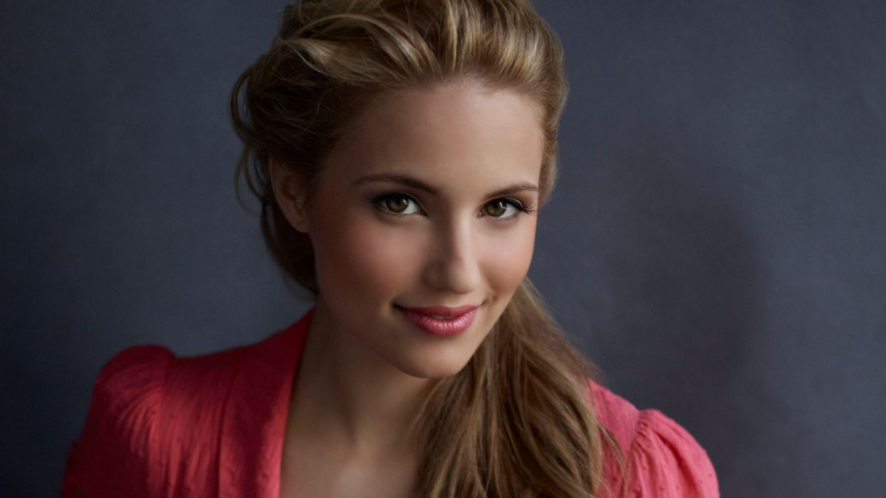 Blondes women dianna agron wallpaper