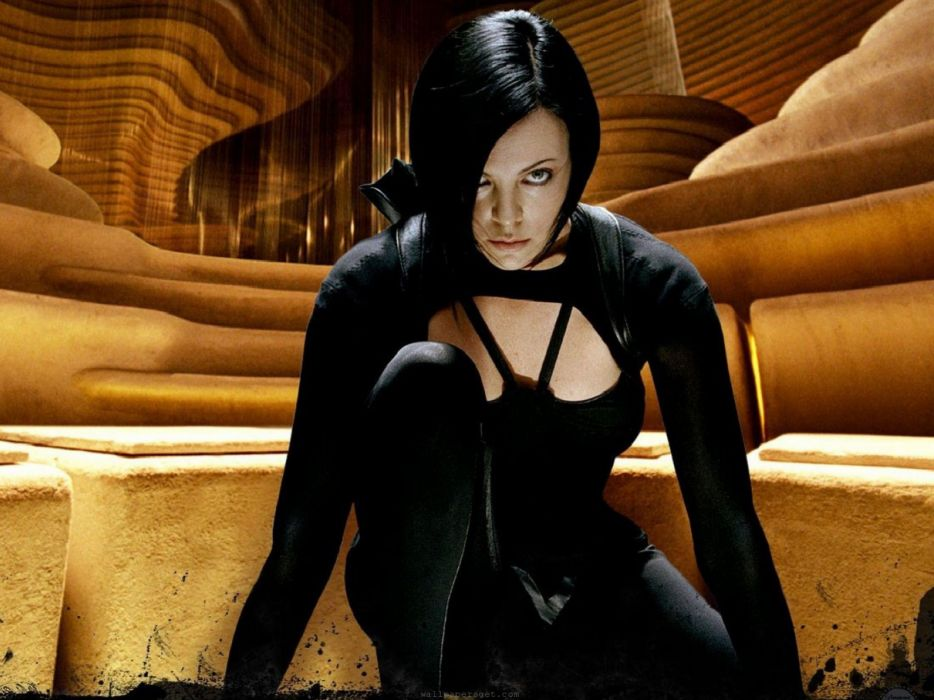 Assassin charlize theron film science fiction aeon flux wallpaper