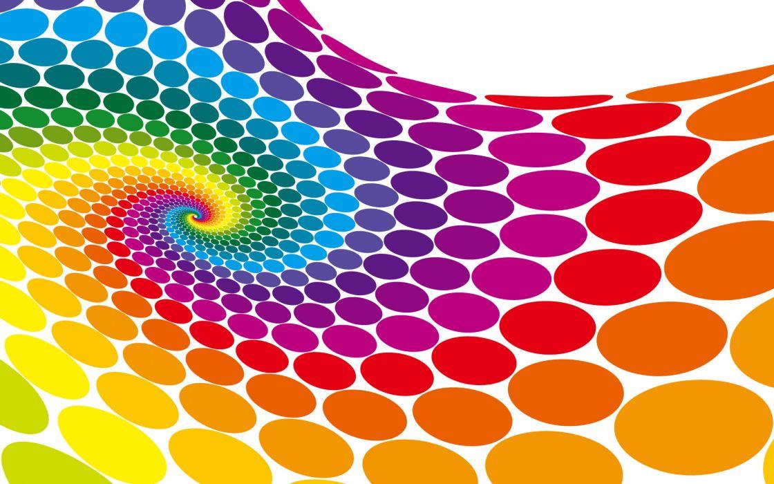 Dots colors wallpaper