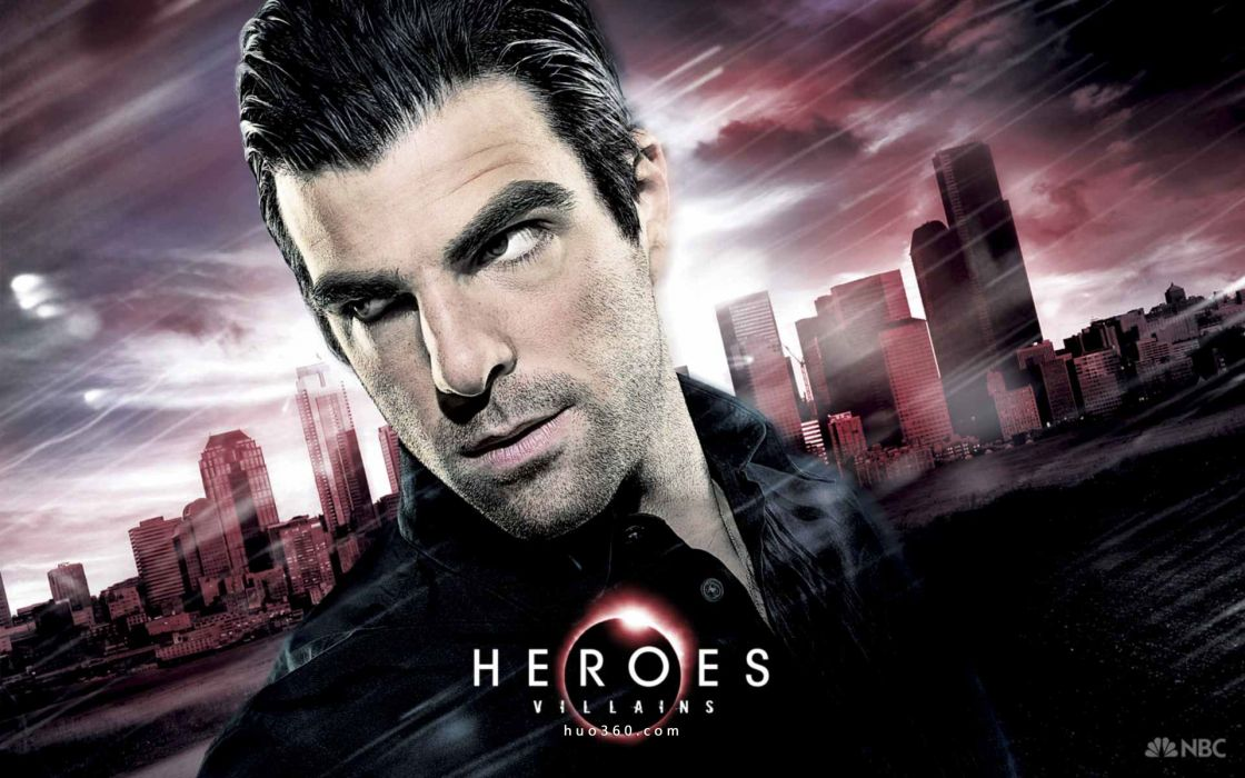 Heroes (tv series) zachary quinto tv posters wallpaper