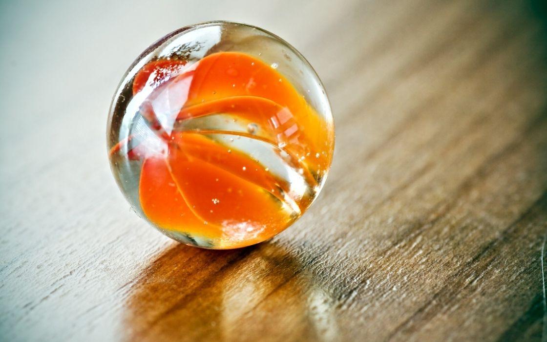 Glass macro spheres depth of field glass art wallpaper