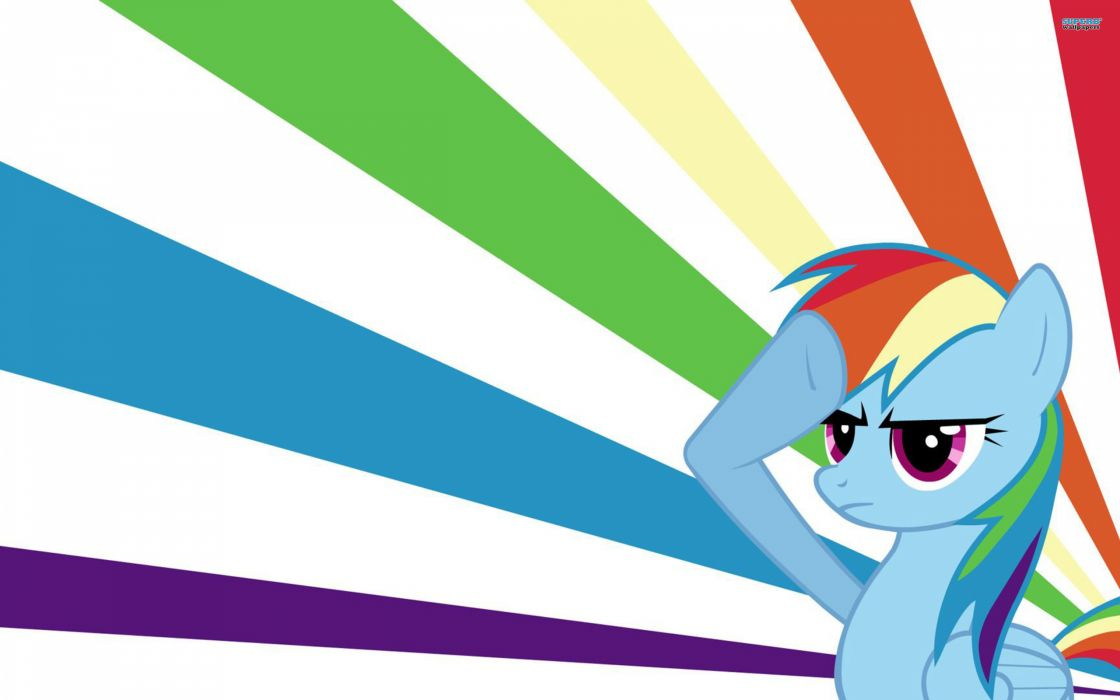 My little pony rainbow dash wallpaper