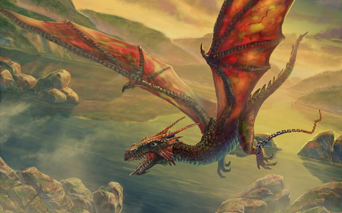 Wings dragons flying fantasy art escape artwork air skyscapes wallpaper