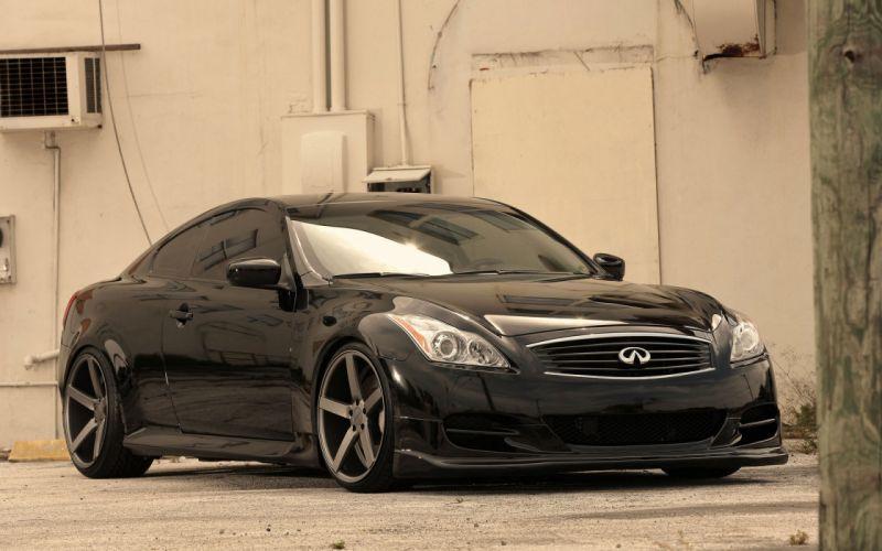 Cars vehicles infiniti black cars wallpaper