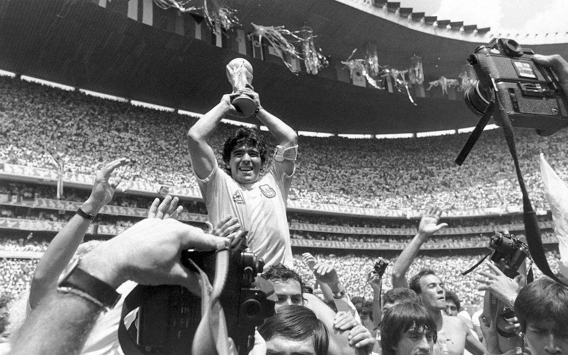 World cups cameras monochrome fifa world cup greyscale diego maradona wallpaper