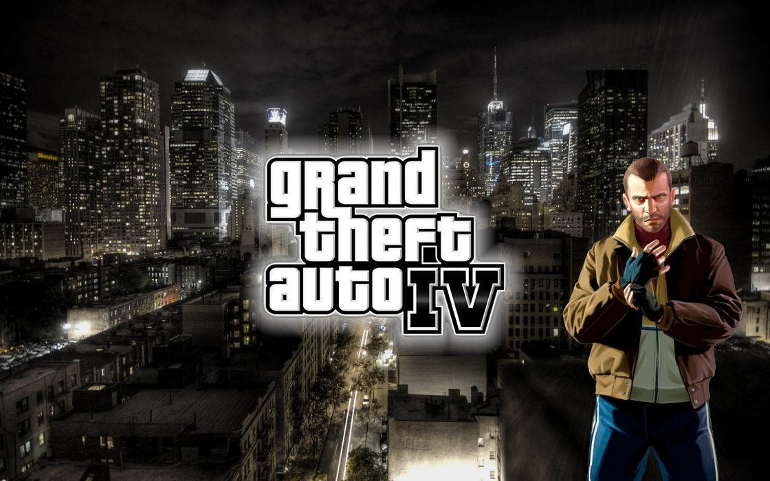 Video games france grand theft auto new york city niko bellic wallpaper