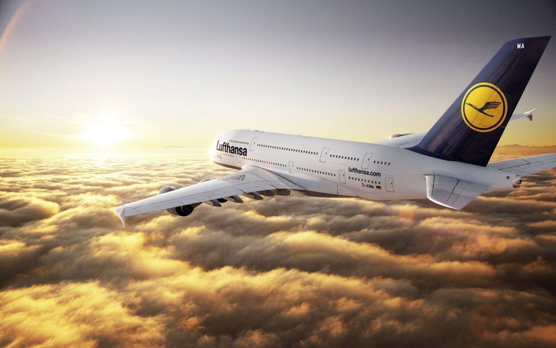 800 Lufthansa wallpaper