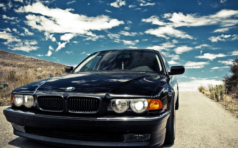 Bmw cars bmw 7 series front view wallpaper