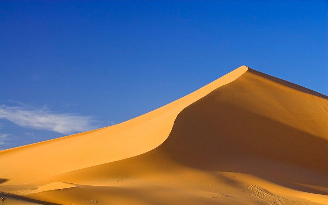 Sand desert dunes wallpaper
