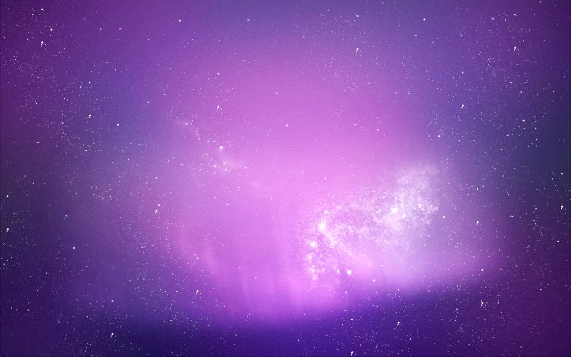 Outer space stars purple wallpaper