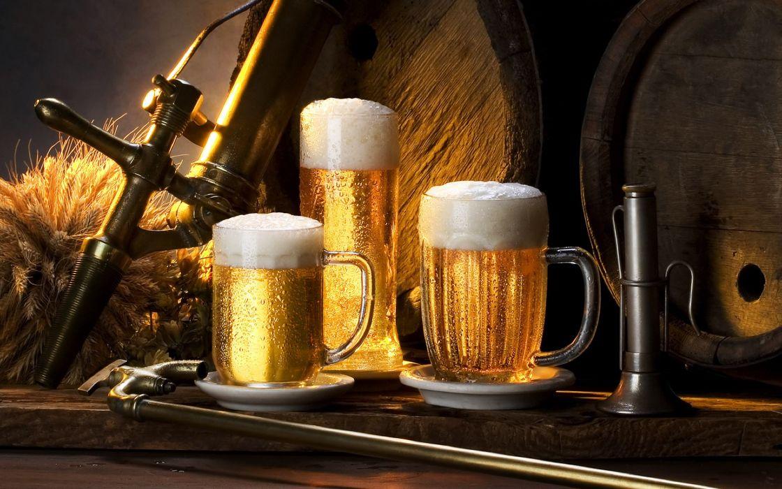 Beers alcohol drinks wallpaper