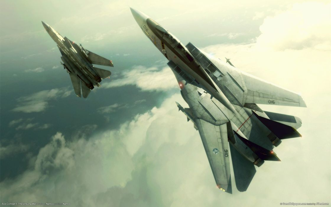 Video games aircraft ace combat wallpaper