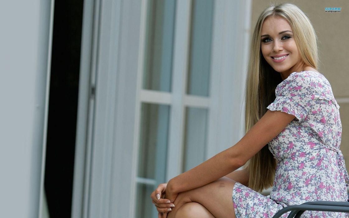Blondes women ksenia sukhinova wallpaper