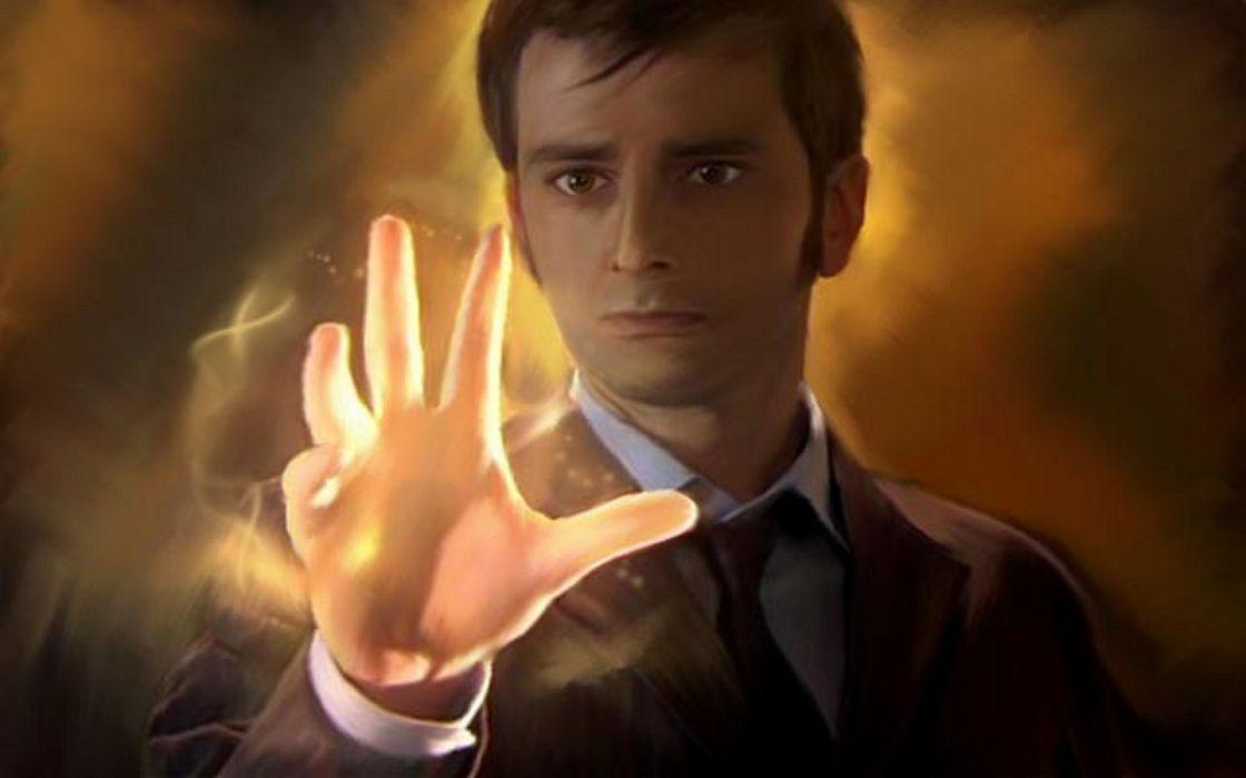 David tennant doctor who fan art tenth doctor wallpaper
