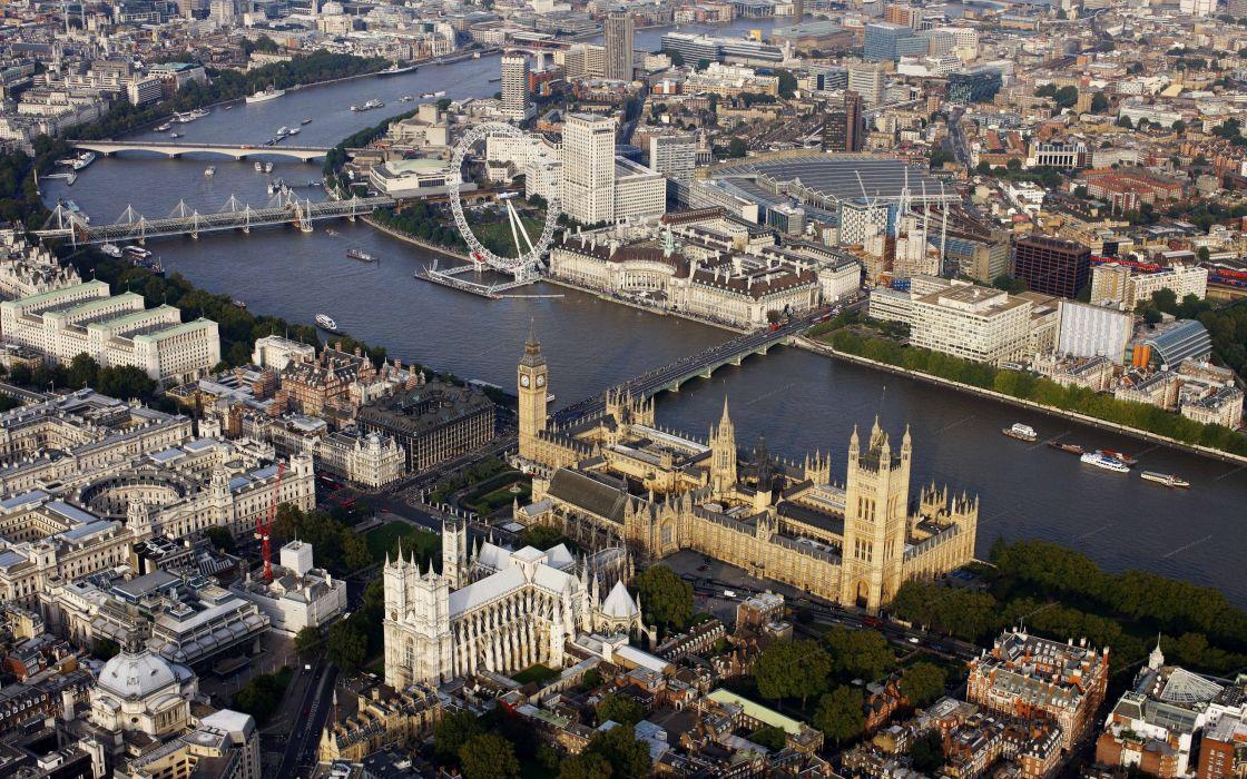 London urban london eye big ben overview united kingdom cities westminster abbey wallpaper