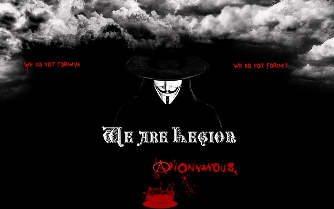 Anonymous legion wallpaper