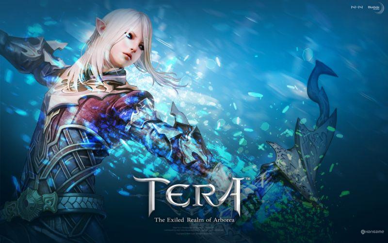 Archers tera mmorpg high elf wallpaper