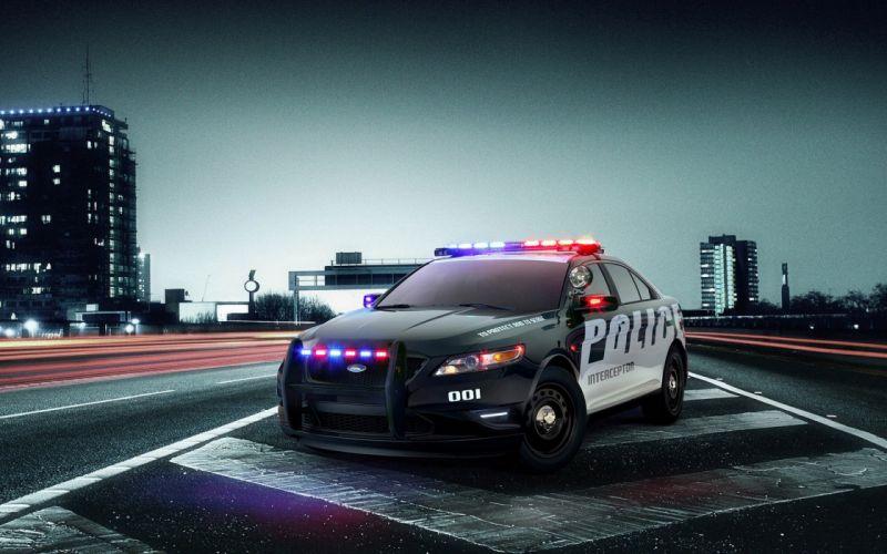Cars ford taurus police interceptor wallpaper