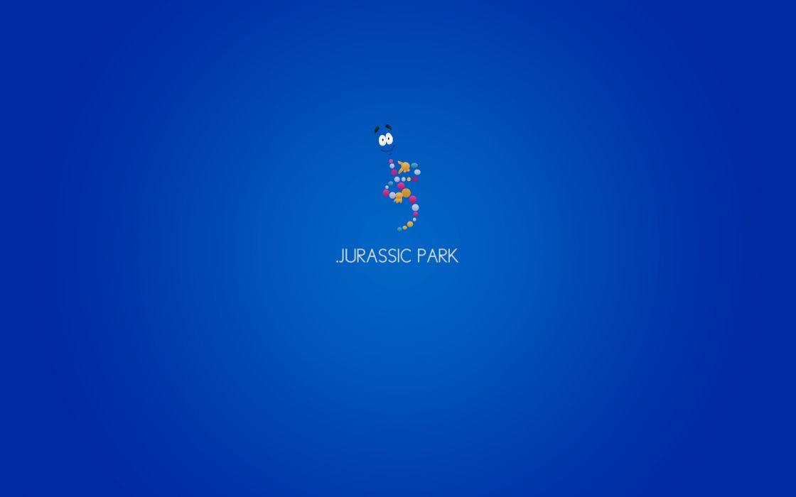Minimalistic movies jurassic park wallpaper