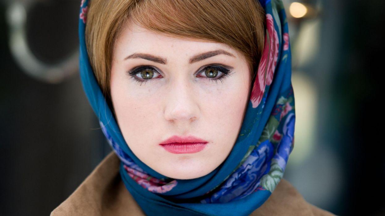 Women redheads manhattan karen gillan doctor who well wallpaper