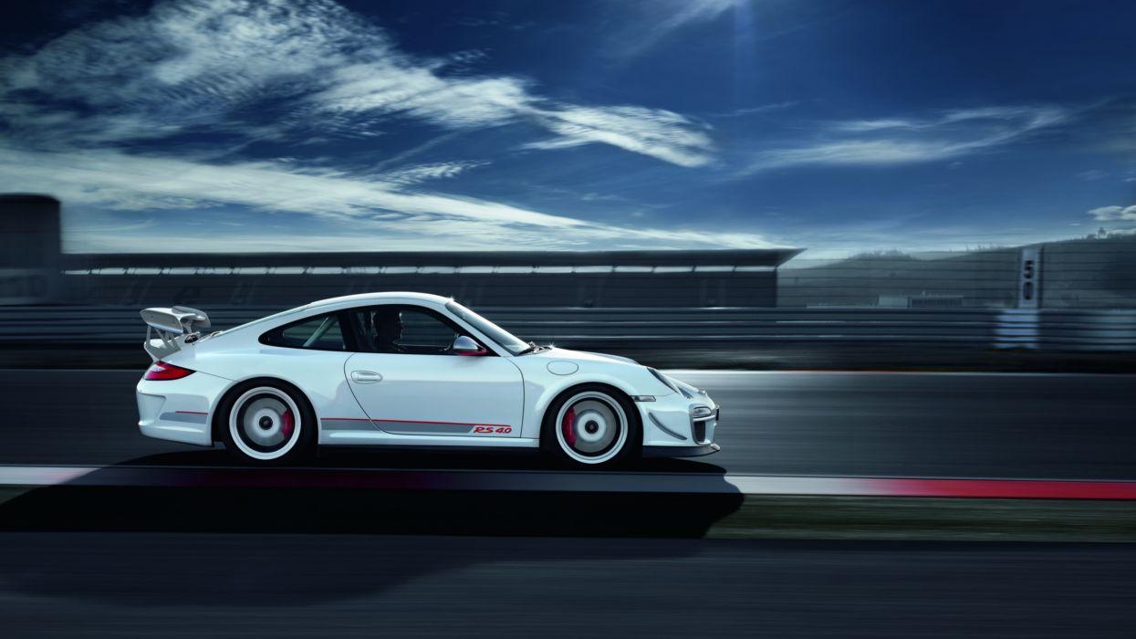 Porsche cars track side view porsche 911 gt3 rs wallpaper