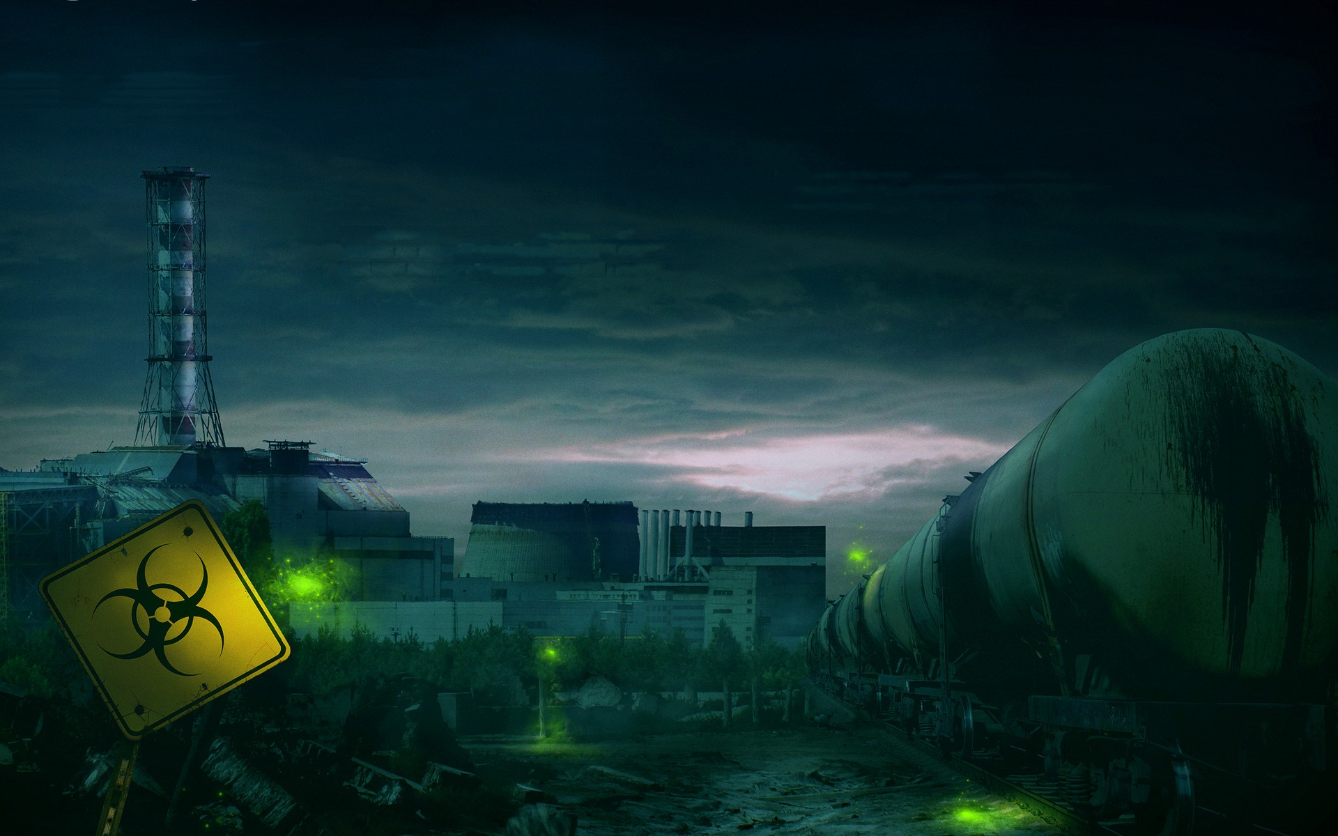 Nuclear chernobyl post apocalyptic wallpaper | 1920x1200 ...