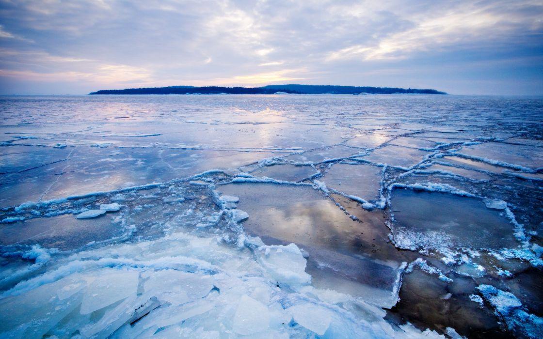 Ice landscapes winter (season) frozen arctic wallpaper