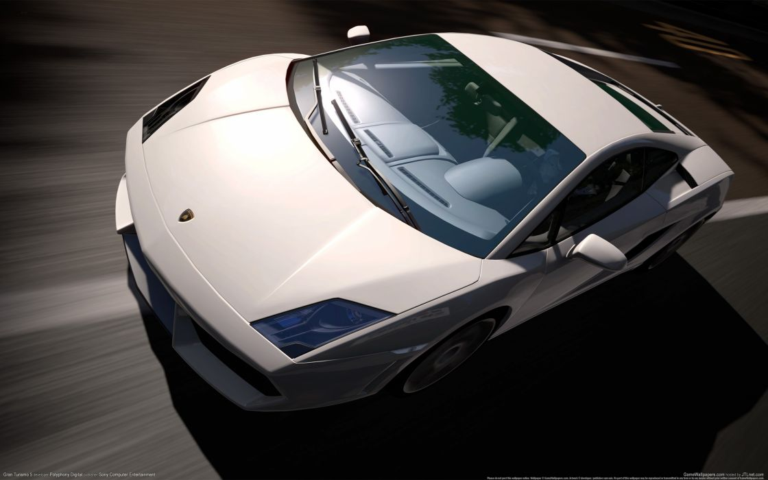Video games cars lamborghini vehicles lamborghini gallardo 3d gran turismo 5 wallpaper