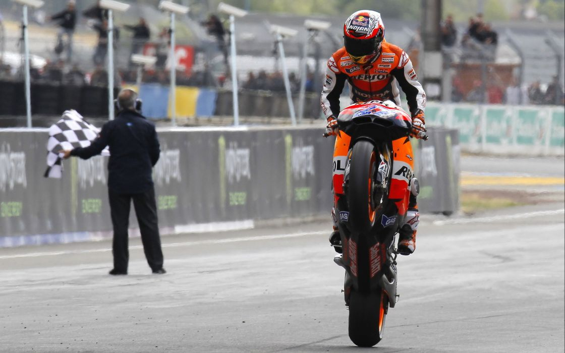 Moto gp motorbikes repsol casey stoner race tracks wallpaper