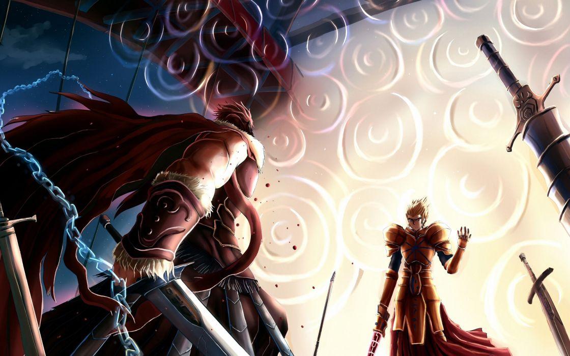 Fatestay night gilgamesh rider (fatezero) fate series wallpaper