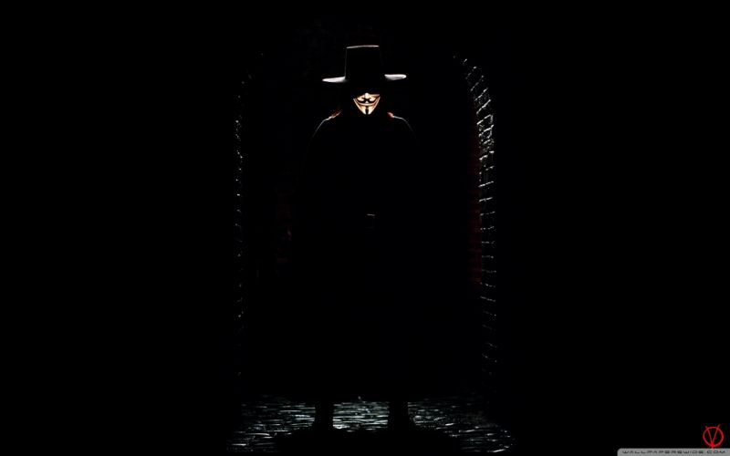 Dark movies v for vendetta wallpaper