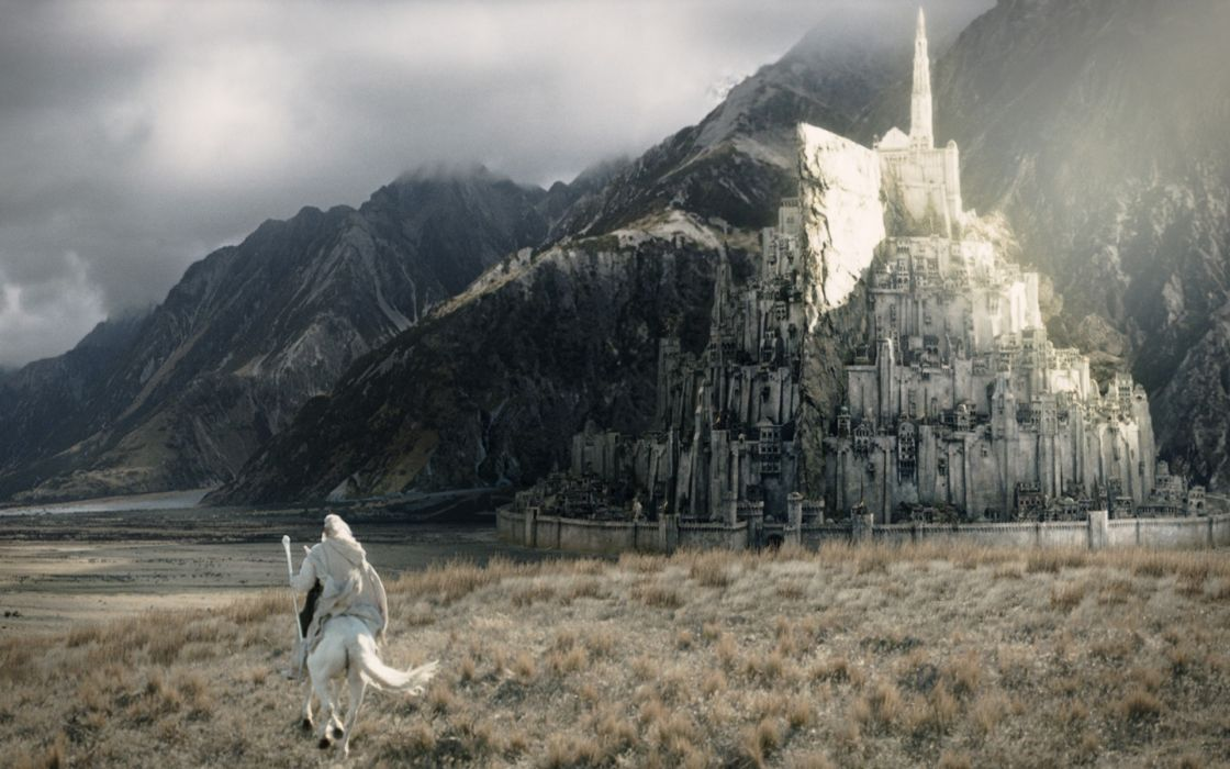 Gandalf the lord of the rings gondor wallpaper