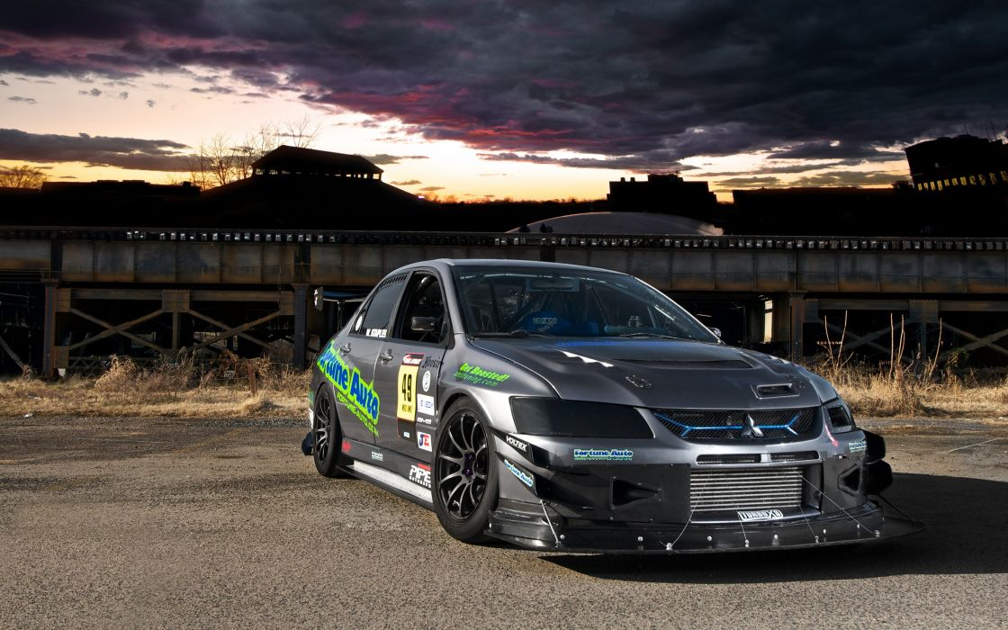 Cars tuning mitsubishi lancer evolution x racing cars wallpaper