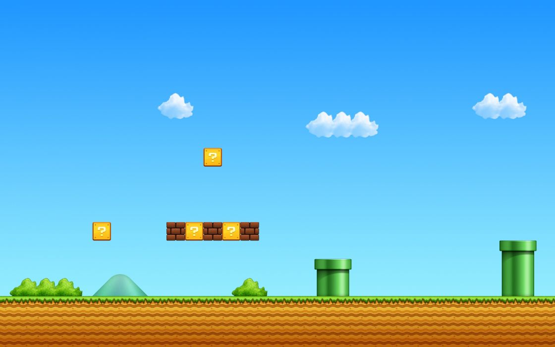Nintendo Video Games Super Mario Bros Wallpaper 3840x2400 17562 Wallpaperup