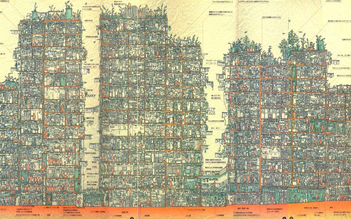 Apartments wallpaper