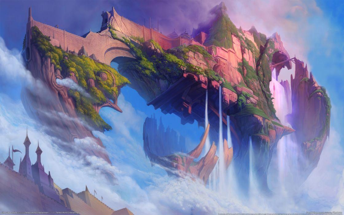 Video games fantasy art artwork ether saga 3d wallpaper