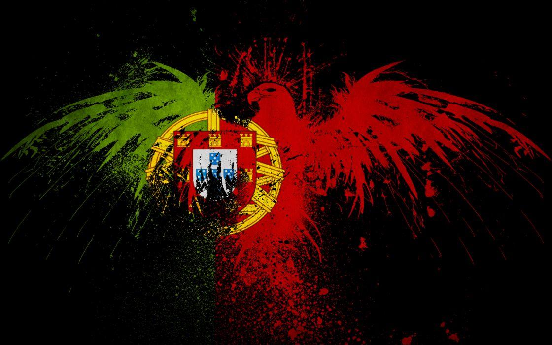 Eagles flags portugal wallpaper