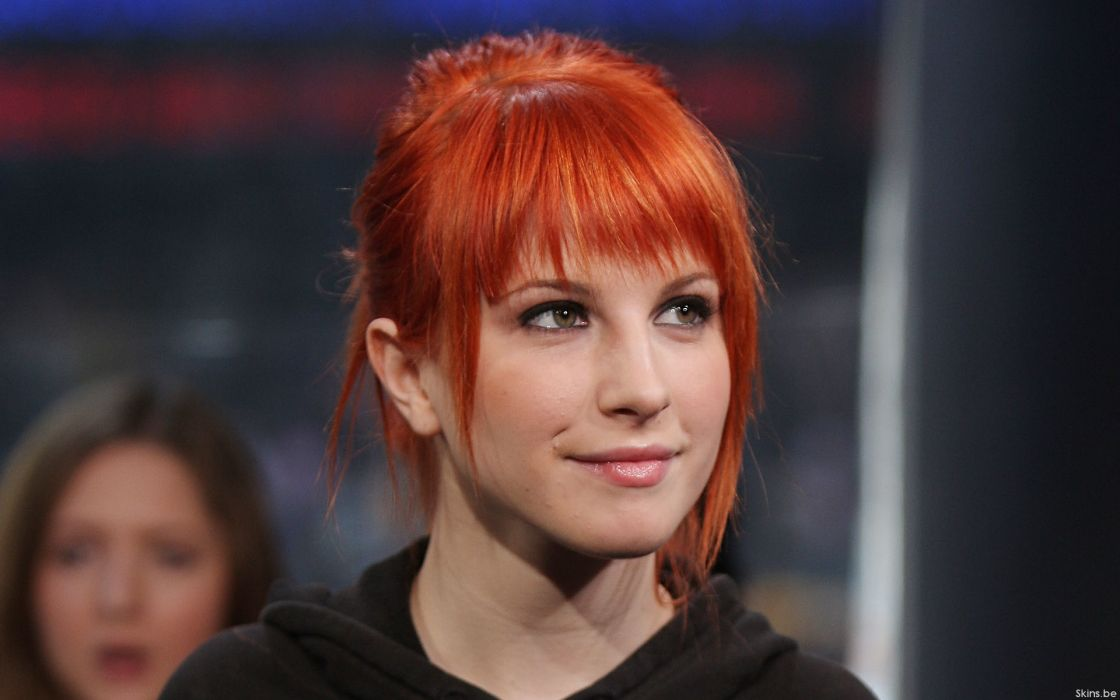Hayley williams paramore women music redheads celebrity singers faces wallpaper