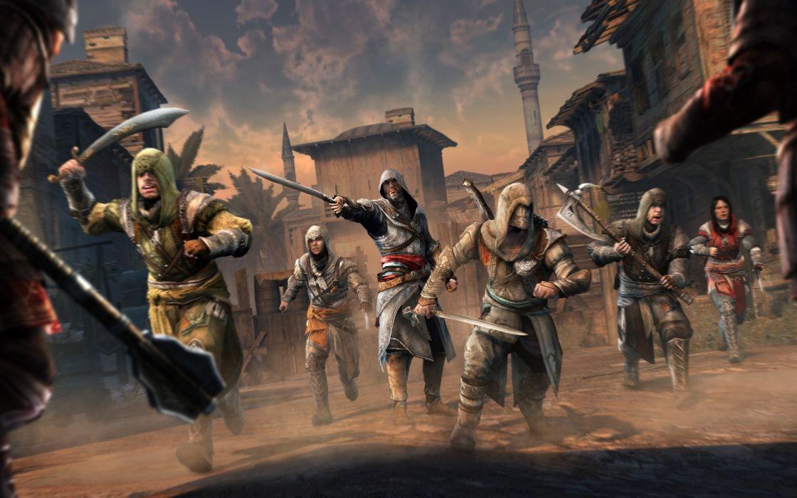 Video games assasins creed wallpaper