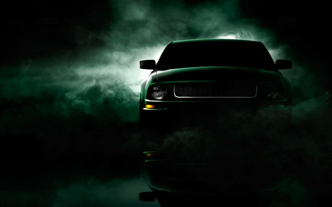 Cars fog vehicles ford mustang wallpaper