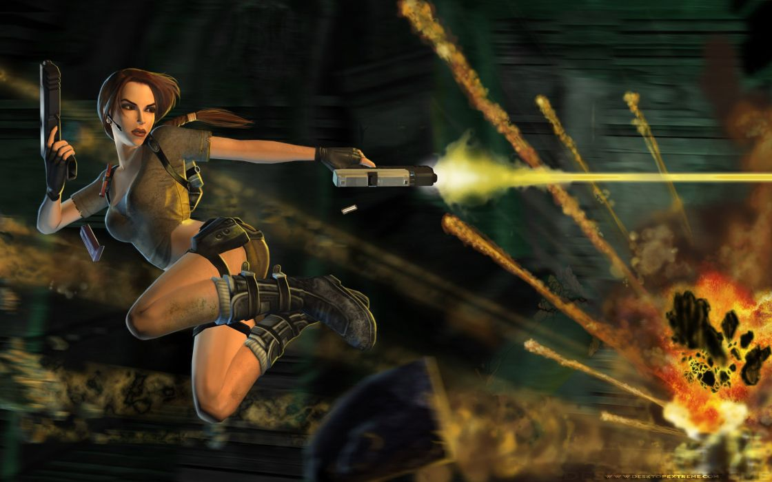 Video games tomb raider lara croft wallpaper