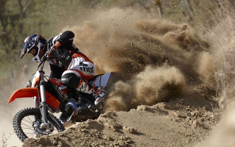 Dirt dirt bikes motocross motorbikes racing ktm 250 wallpaper